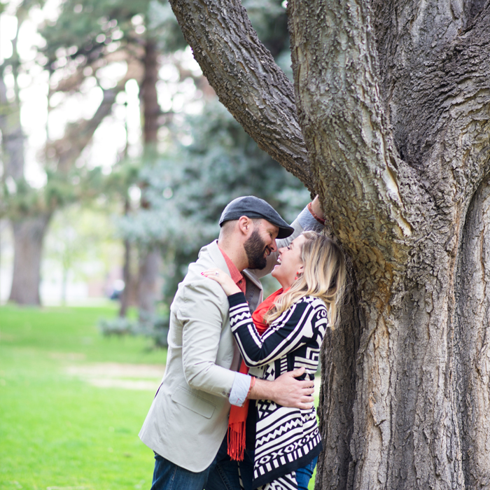 Denver City Park Engagement Photography