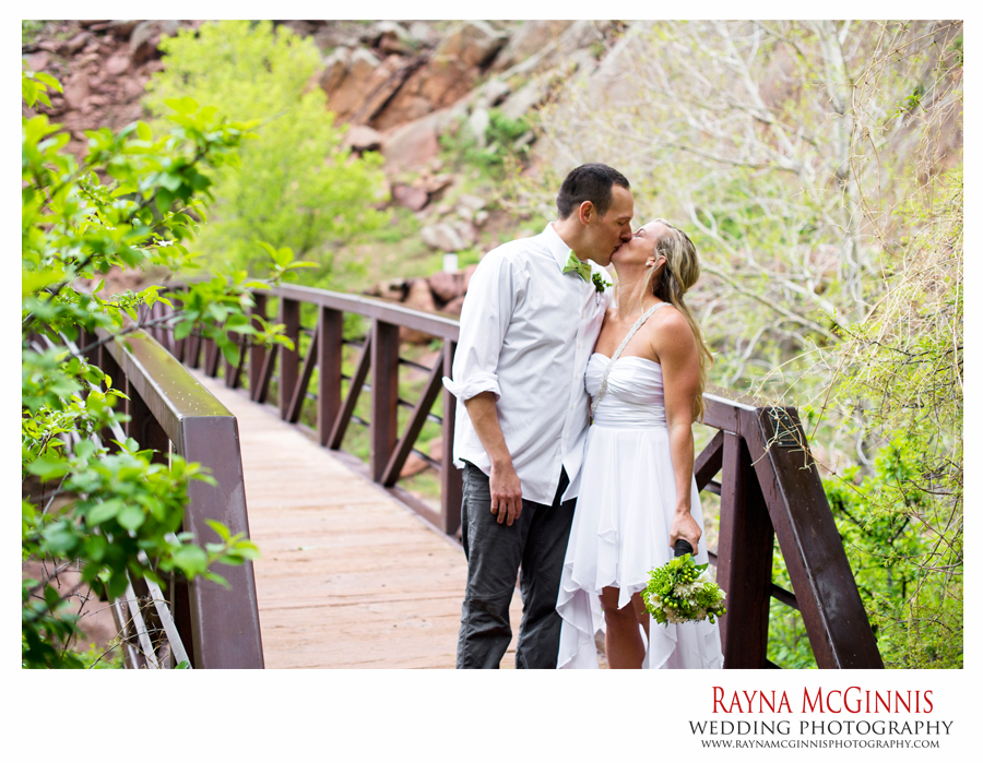 Eldorado Canyon State Park Wedding in Colorado