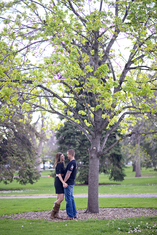 Denver Engagement Photos at City Park - Jennifer and Kevin