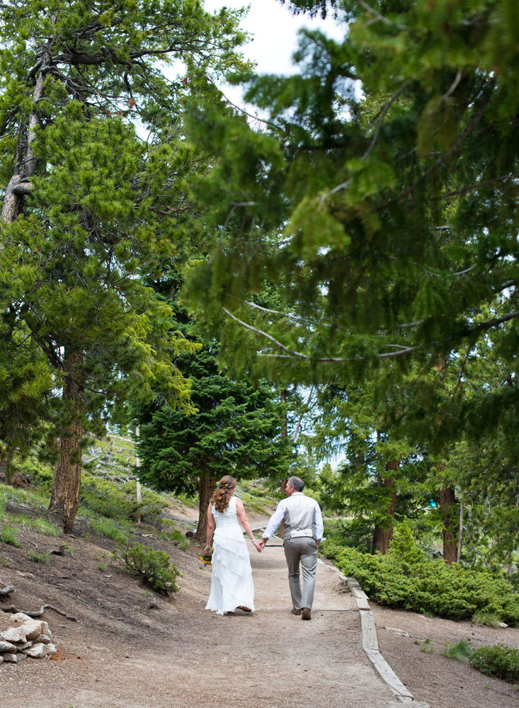 Sapphire Point Wedding Photography - bride and groom walking