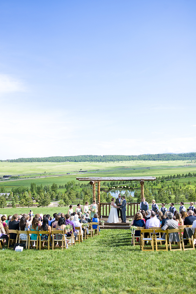 Spruce Mountain Wedding Photography - Mountain View