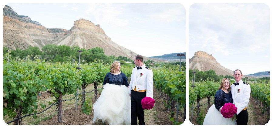 Canyon Wind Cellars Wedding Photography - Couples photos by Rayna McGinnis