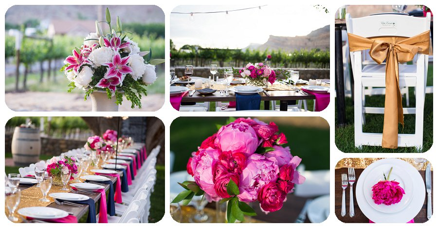 Reception Details - Canyon Wind Cellars