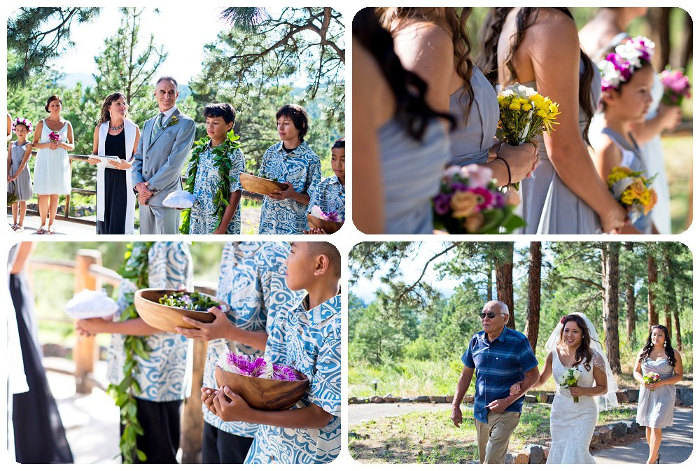 Chief Hosa Lodge Wedding Pictures - Wedding Ceremony