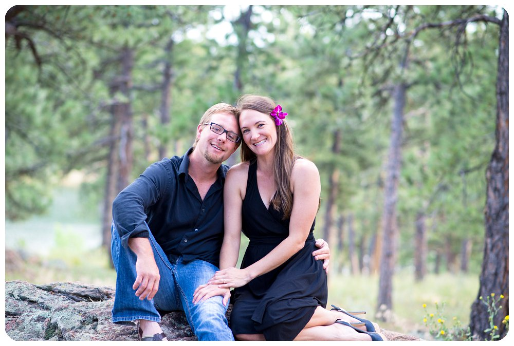 Engagement Pictures on Lookout Mtn