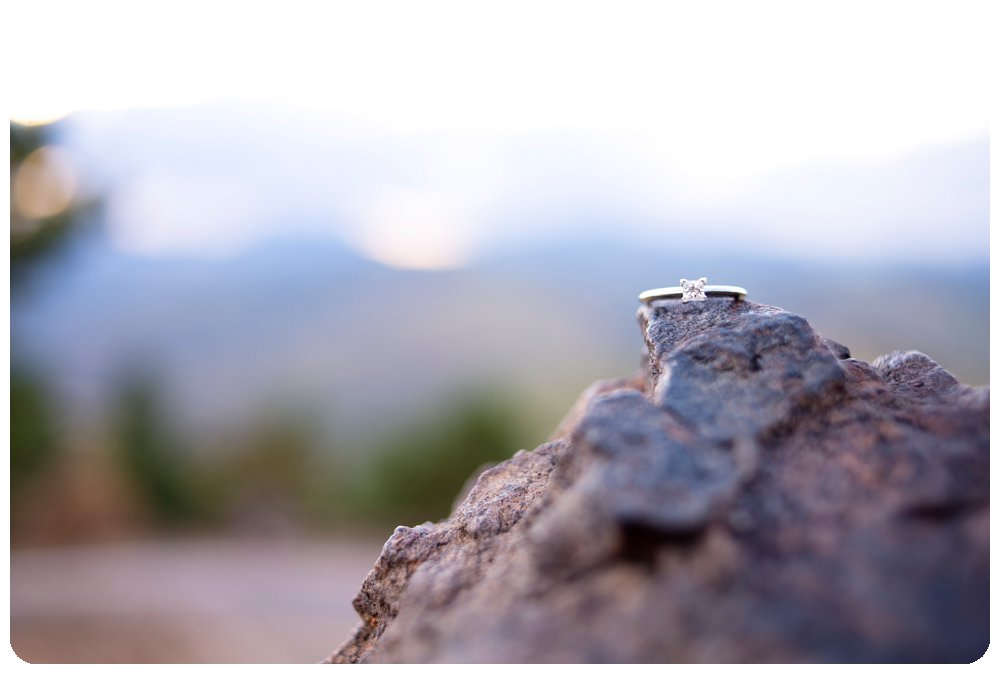 Engagement Ring on Lookout Mountain