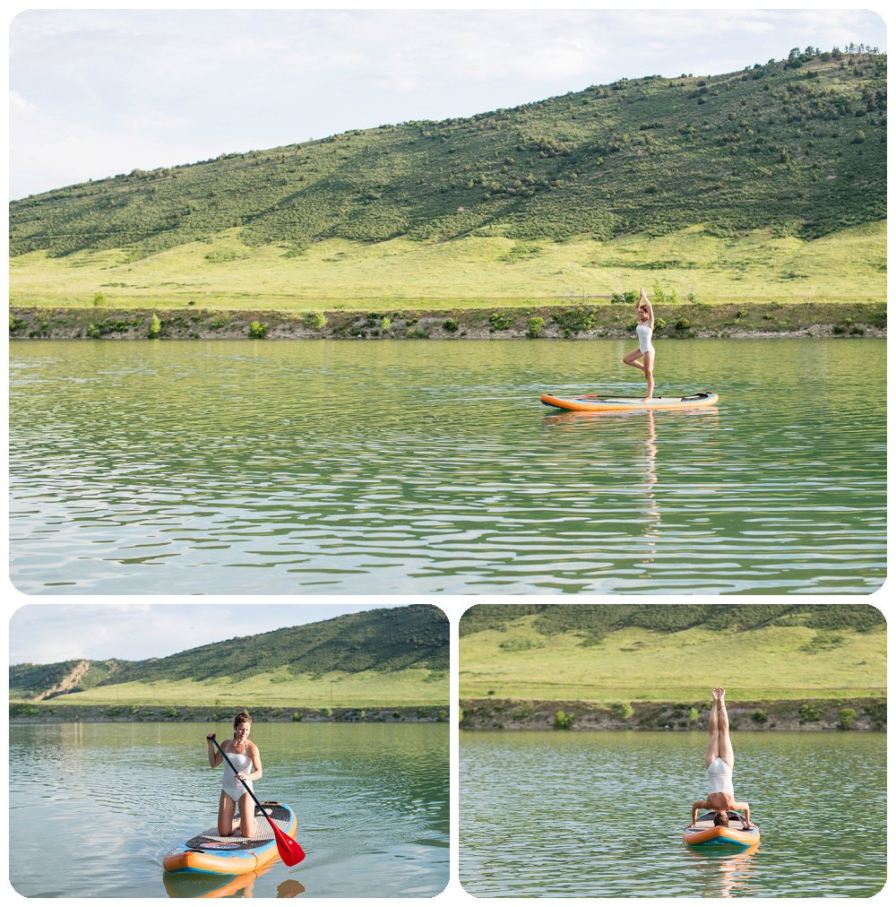 Yoga SUP boarding Session in Colorado