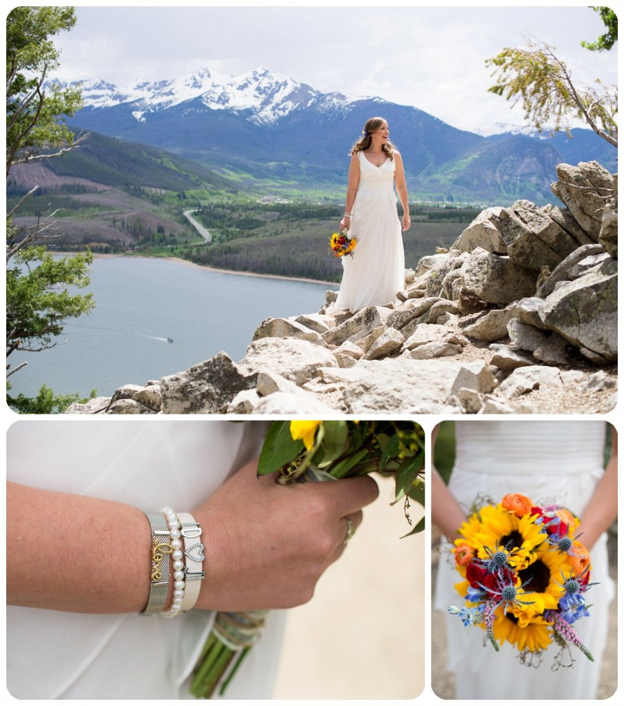 Rocky Mountain Wedding Photographer - Bride at Sapphire Point