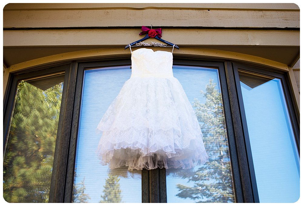 Custom dress designed by denver Dress Makers at the Gate House of the Grandview Terrace