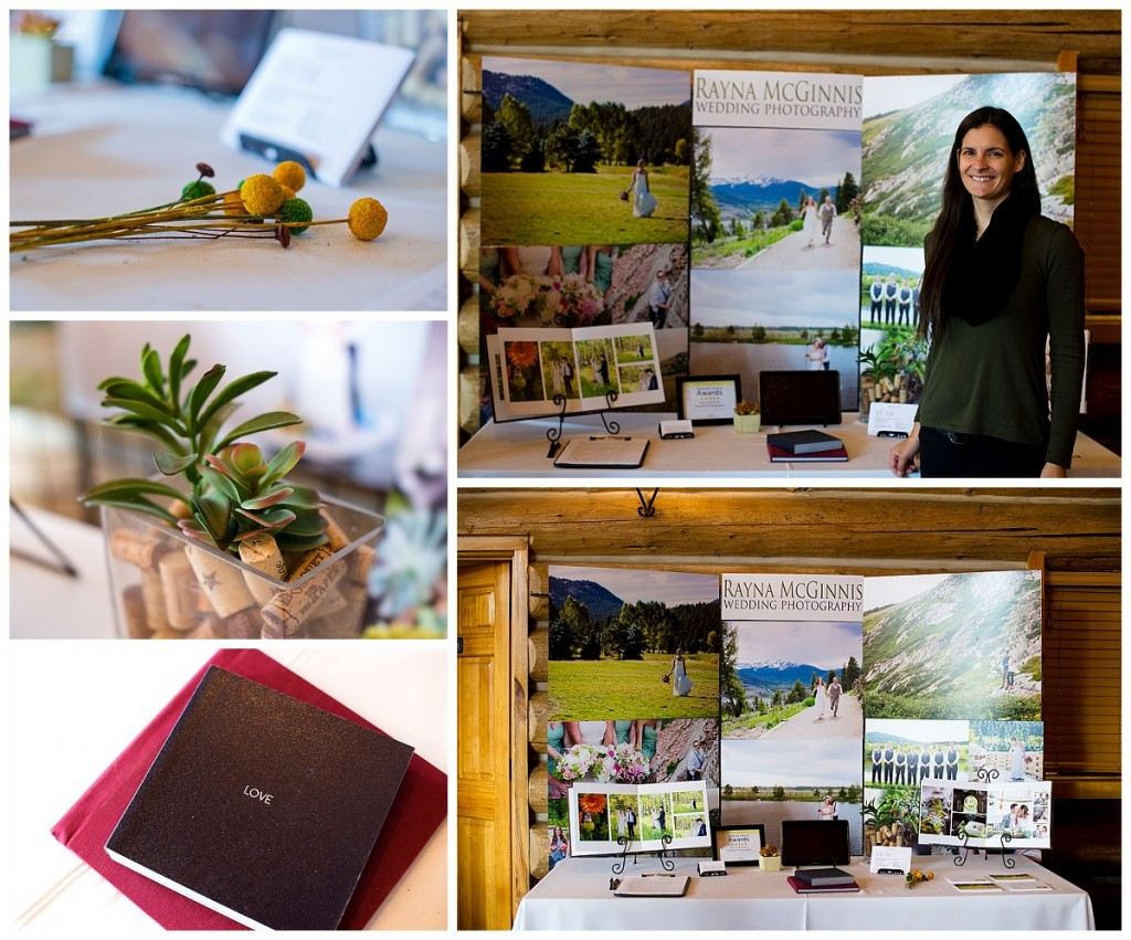 Rayna McGinnis, Colorado Wedding Photographer, at theEvergreen Lake House Wedding Show