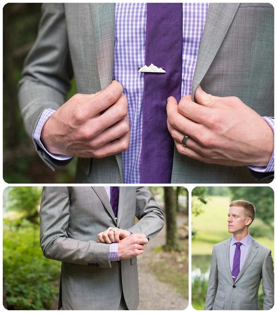 Groom Details at Confluence Resort Wedding