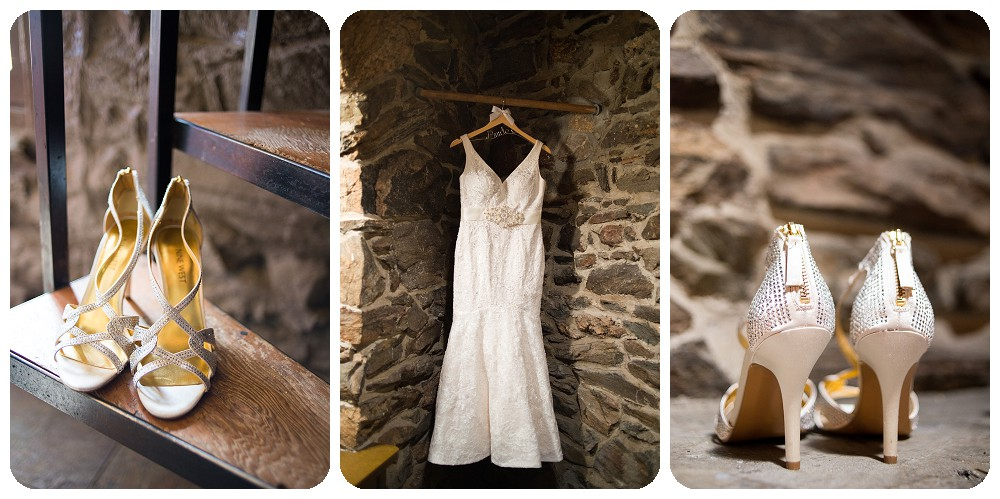 Dress and Shoes - Chief Hosa Lodge Wedding