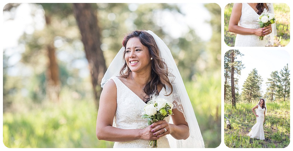 Bride at Chief Hosa Lodge