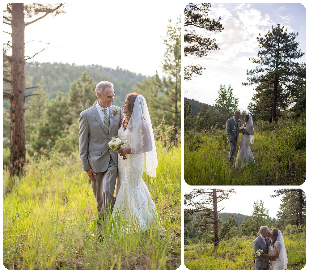 Couple's photos at Chief Hosa Lodge Wedding