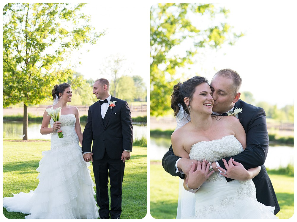 Hudson Gardens Wedding Photographer - Couple's photos of bride and groom