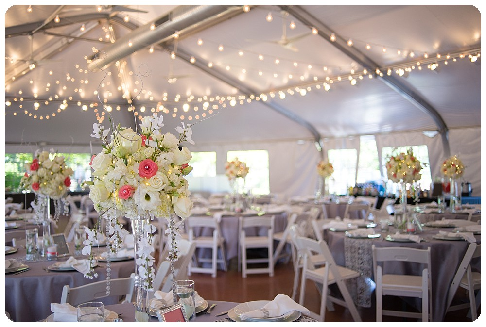 Reception set up by Unique Moments