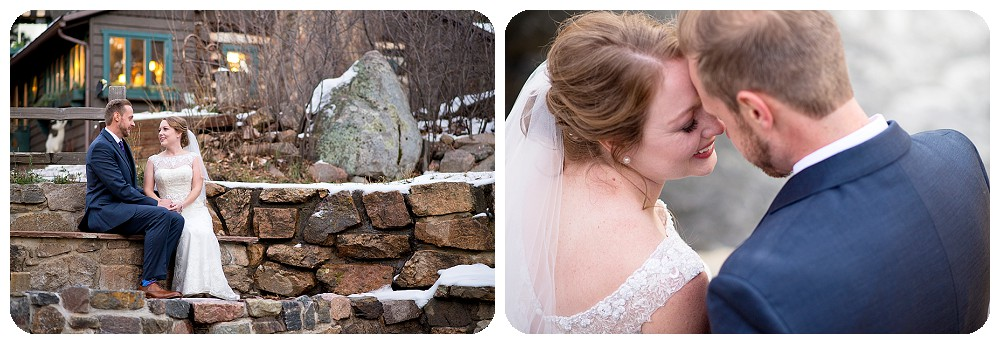 Evergreen Wedding Photography at Highland Haven Creekside In in Evergreen Colorado