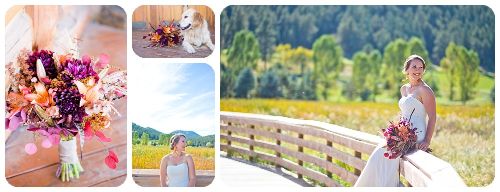 Bridal Session at the Evergreen Lake House