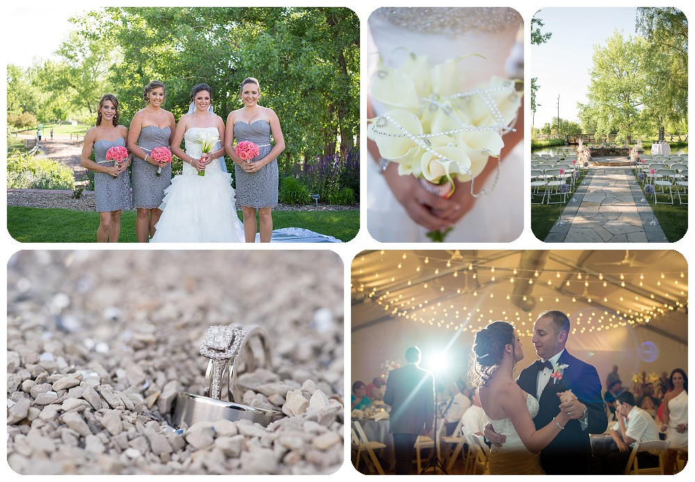 Colorado Wedding Pictures at Hudson Gardens