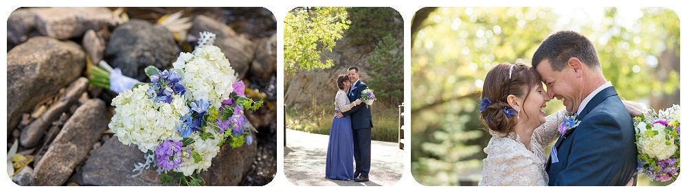 Fall wedding at Highland haven Inn