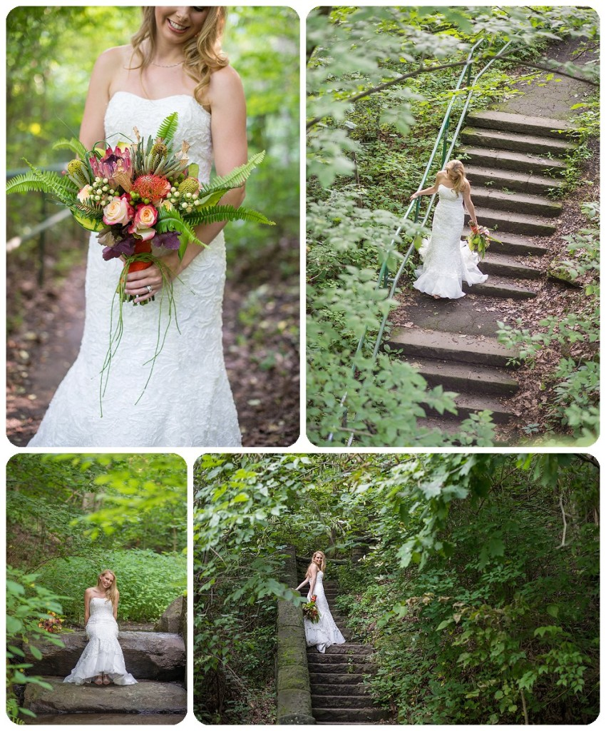 Schenley Park Bridal Session