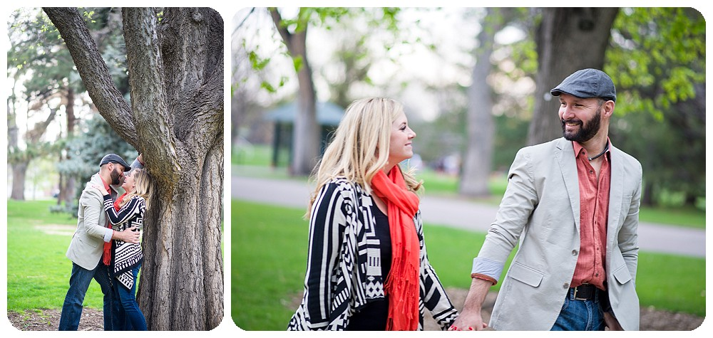 Sarah and Luis rocked their City Park Engagement session. I LOVED their style.