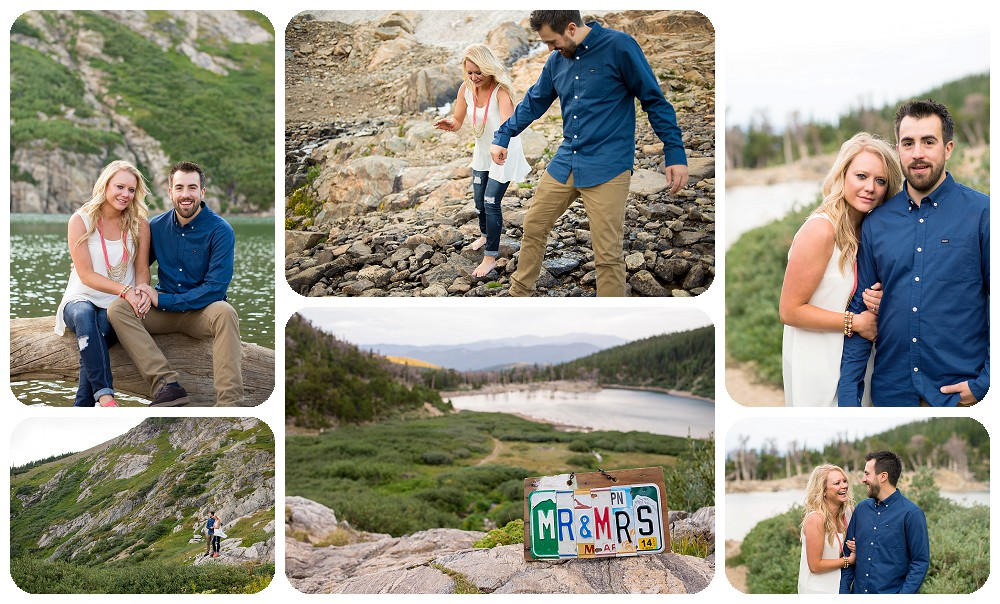 St Mary's Glacier Engagement Session