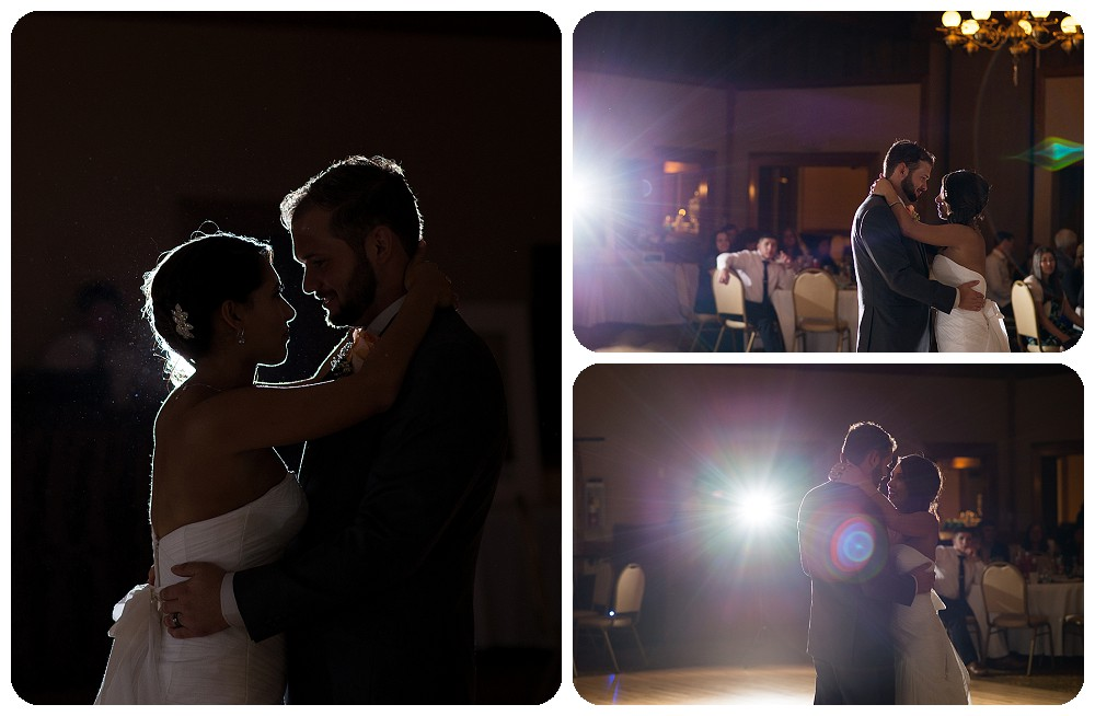 First dance at the Brittany Hill