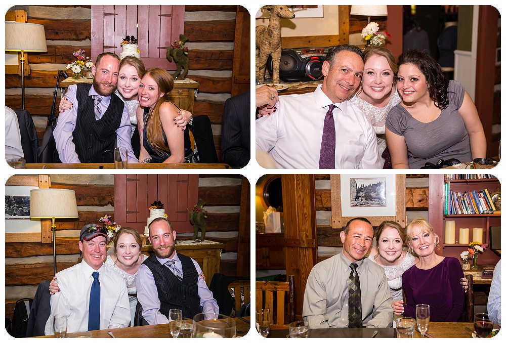 Reception photos at the Highland Haven Inn