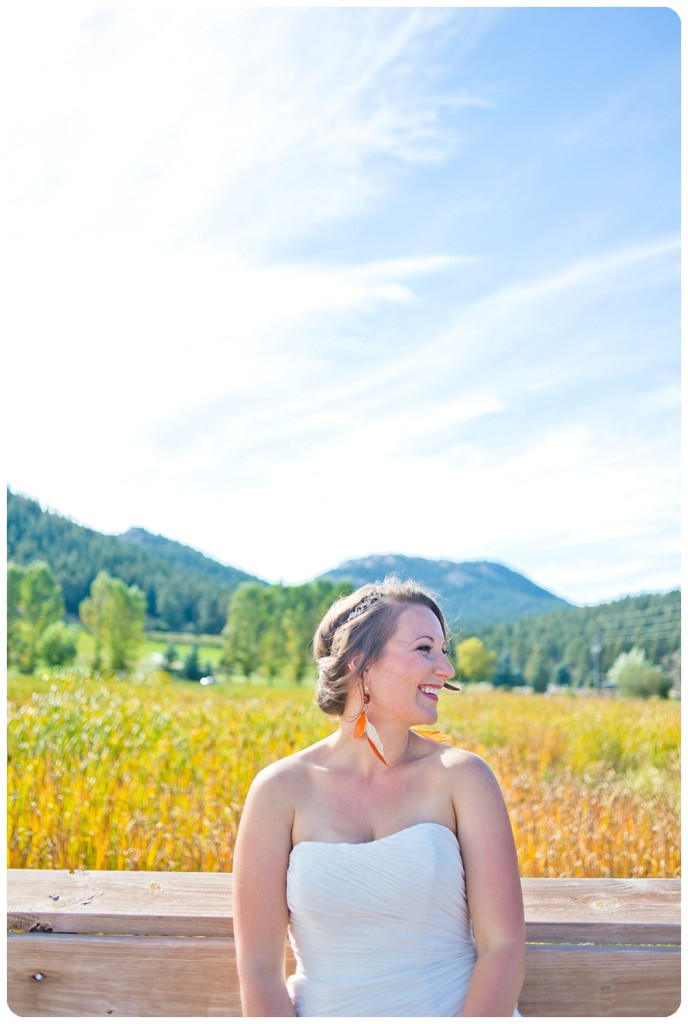 Autumn wedding at Evergreen Lake House