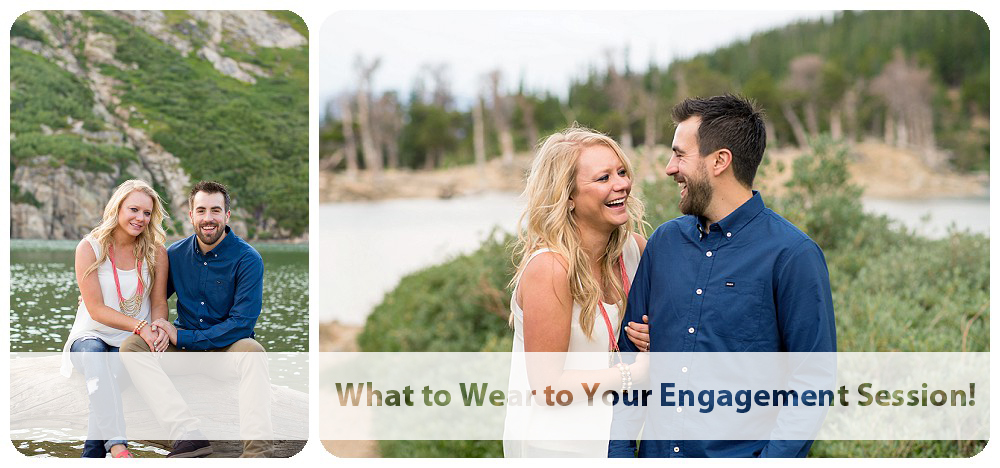 What to wear to your engagement session banner
