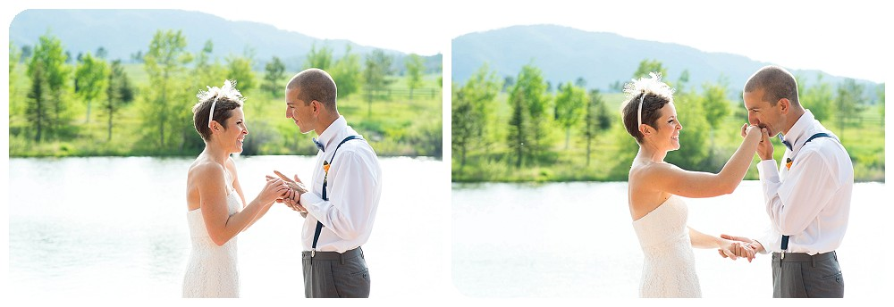 Ring Exchange at Spruce Mountain Ranch