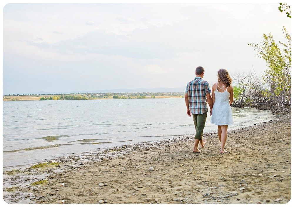 Colorado Beach Engagement Session