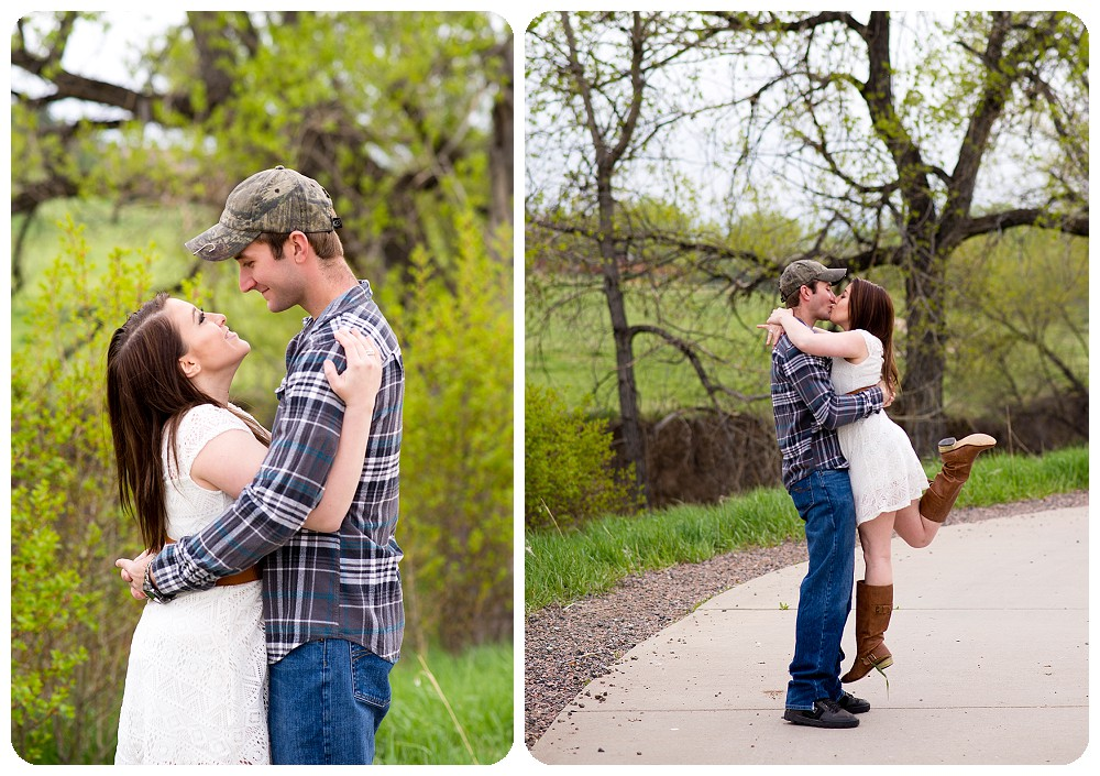 Belmar Park Engagement Session by Rayna McGinnis in Lakewood, Colorado