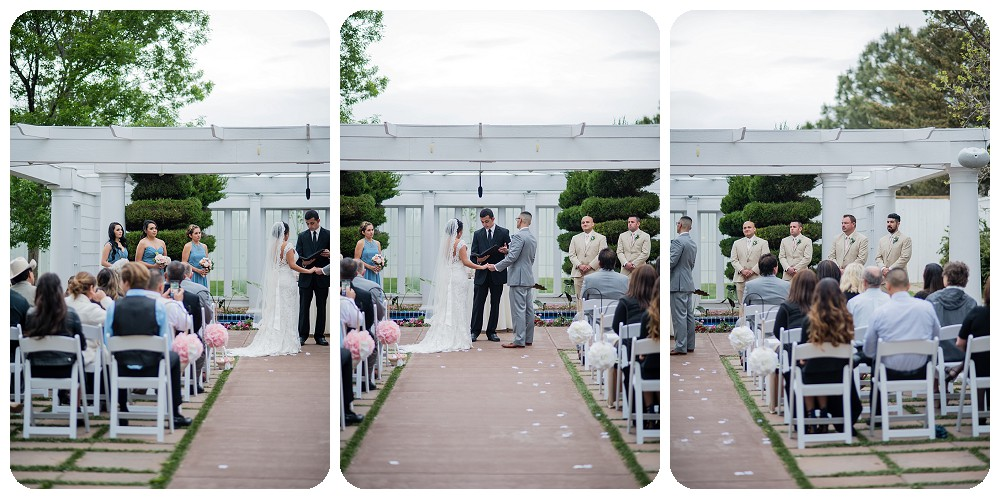 Lionsgate event center wedding ceremony by Rayna McGinnis