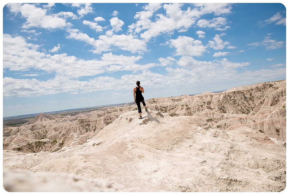 South Dakota Wedding Photographer hanging out in Badlands National Park