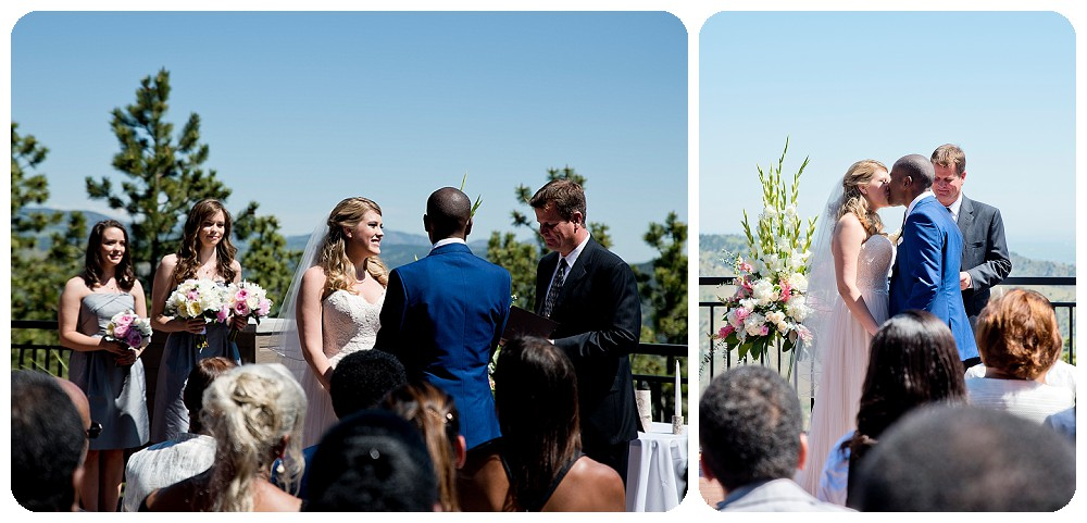 Ceremony at the Mount Vernon Country Club by Rayna McGinnis