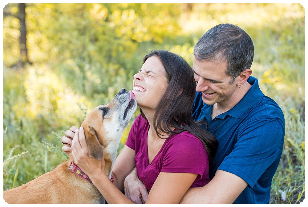 Family Photos by Ashley McKenzie Photography at Elk Meadow Dog Park