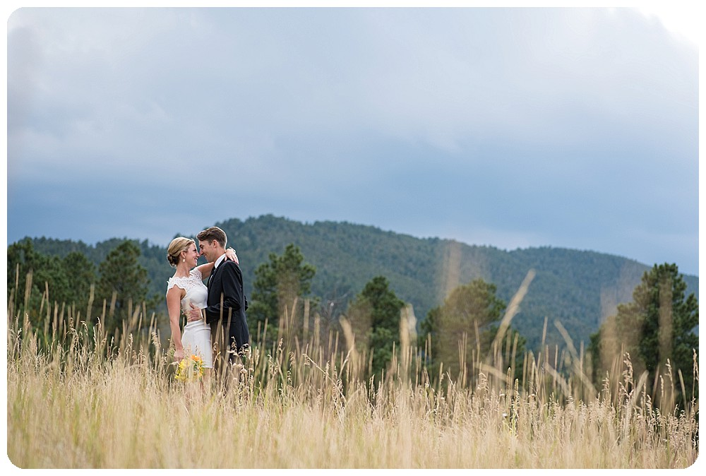 Colorado Mountain Wedding Photos at Elk Meadow near Evergreen