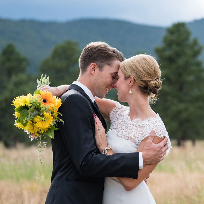 Libbie and Sev's Colorado Mountain Wedding Photos