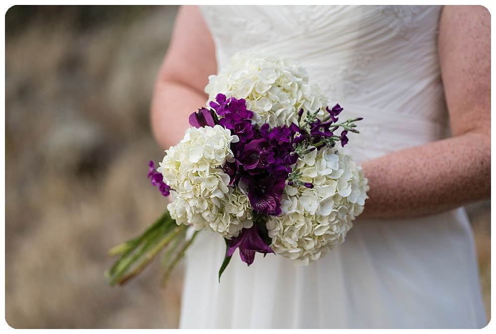 DIY bridal bouquet from Trader Joes