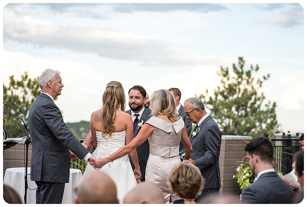 Mount Vernon Country Club Wedding in Golden Colorado