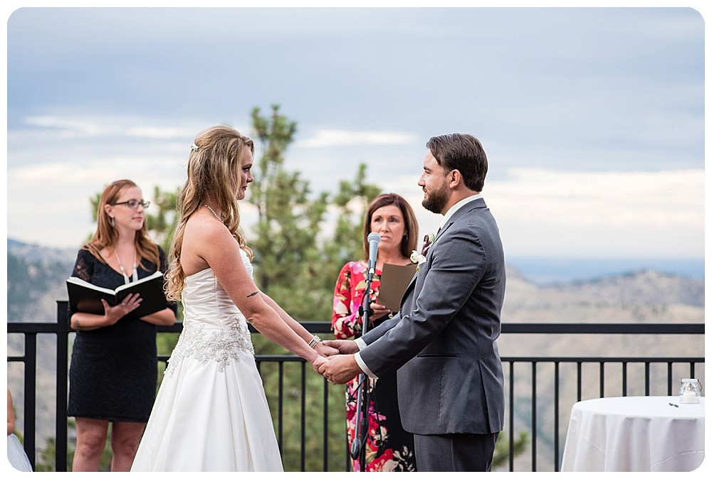 Mount Vernon Country Club Wedding Ceremony in Golden, Colorado