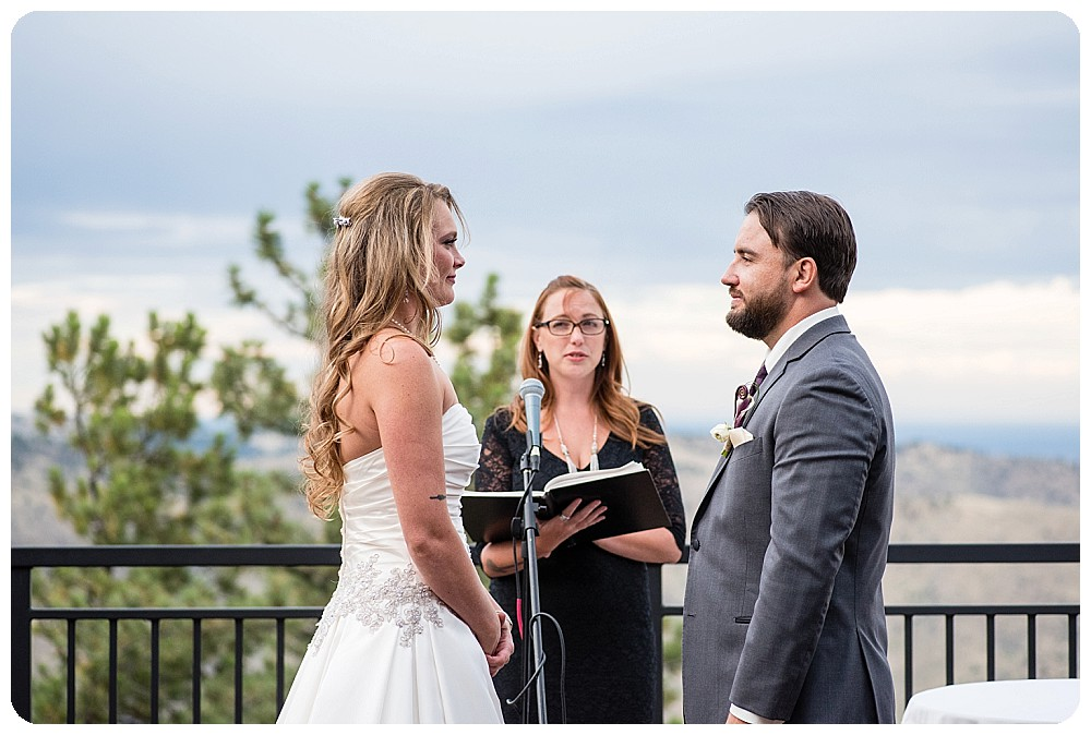 Mount Vernon Country Club Wedding Ceremony in Colorado