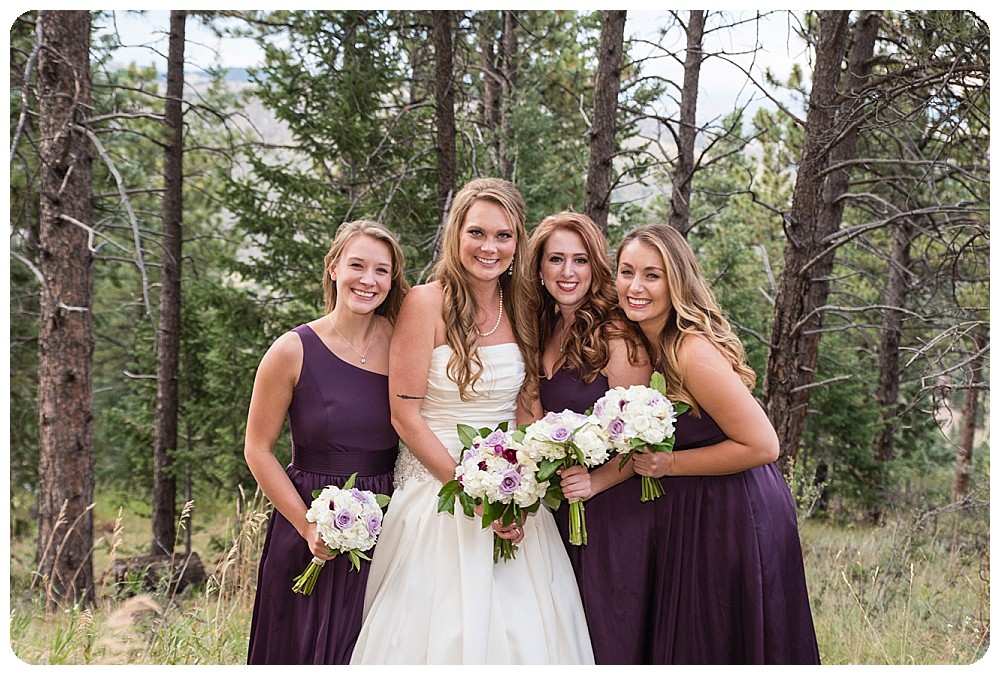 Bridesmaids at Mount Vernon Country Club Wedding
