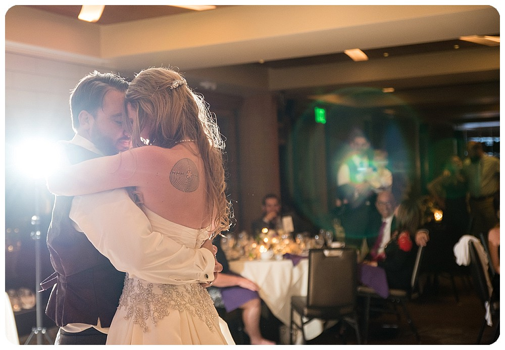 First dance at Mount Vernon Country Club Wedding