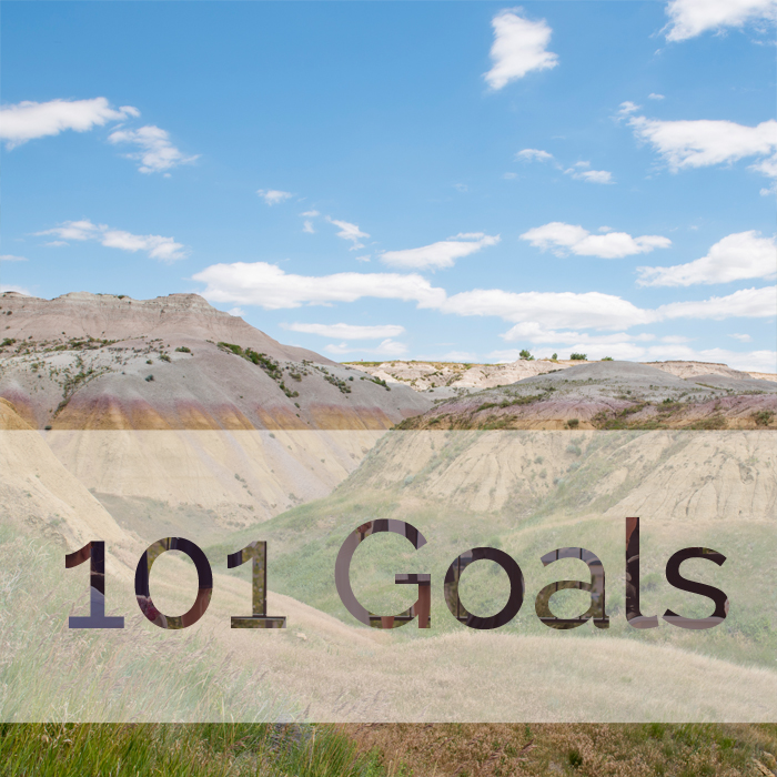 101 goals list by Colorado elopement photographer Rayna McGinnis