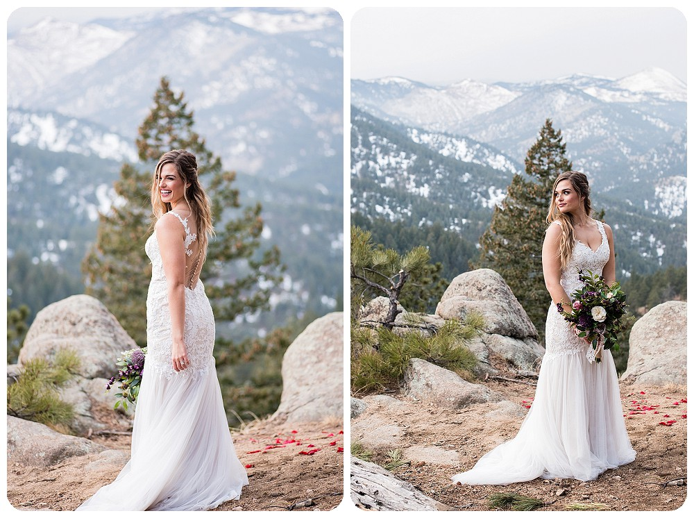 Colorado Winter Elopement in Boulder, Colorado