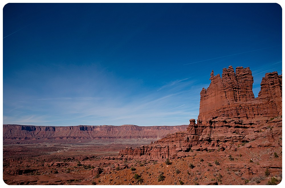 View of Ancient Art by Moab Elopement Photographer, Rayna McGinnis
