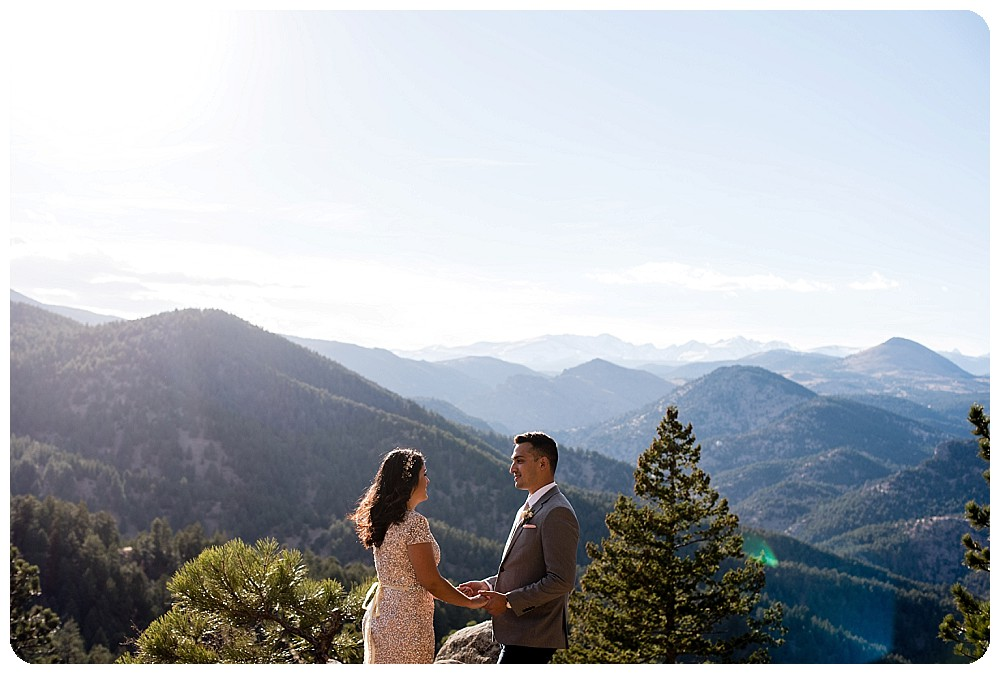 Destination Elopement in Boulder Colorado by Rayna McGinnis